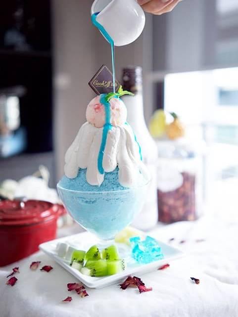 Blue Bingsu