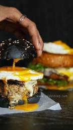 Pork Egg burger