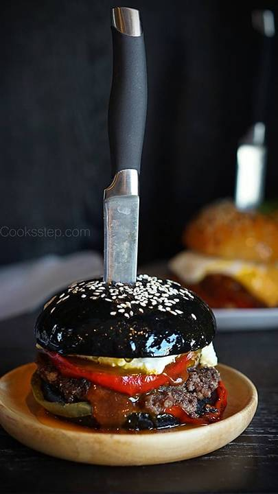 Beef BBQ burger by Cook's Step