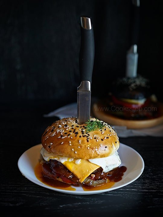 Burger by Cook's Step