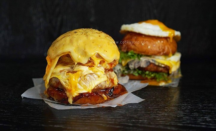 Explosive Cheese burger