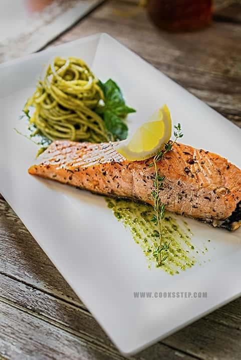 Salmon Steak by Cook's Step-min