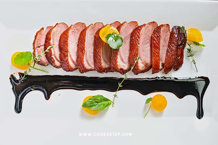 Smoked duck breast by Cook's Step-min