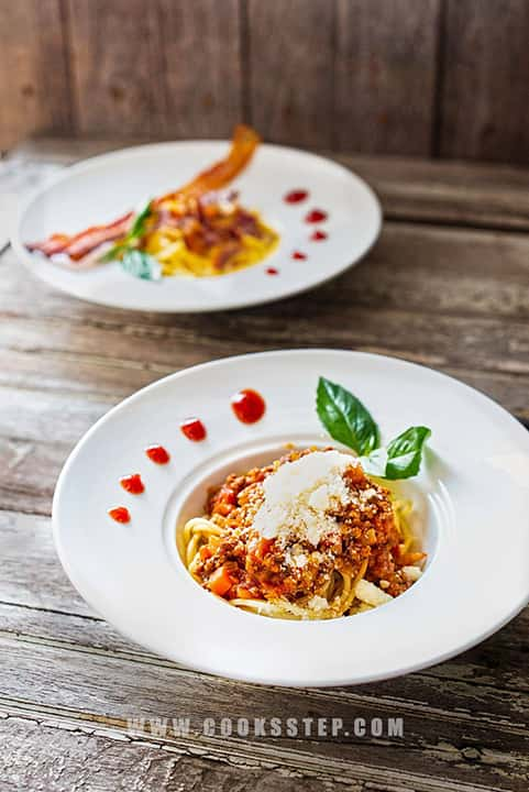 Spagetti Bolognese by Cook's Step-min