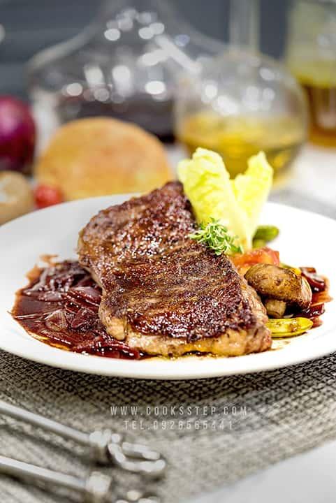 Sirloin steak by Cook's Step-min