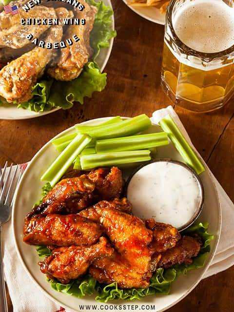 New orleans chicken wing by Cook's Step-min