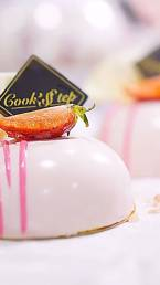 Strawberry Cheese Bomb by Cook's Step
