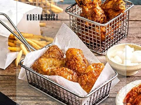 Korean chicken wings by Cook's Step-min