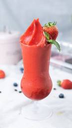 Strawberry smoothie by Cook's Step
