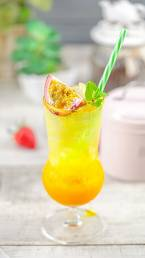 Orange italian soda by Cook's Step