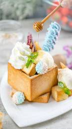 Honey Toast by Cook's Step in Bangkok