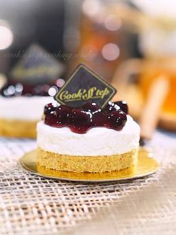 Blueberry Cheesecake by Cook's Step