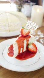 Strawberry Crepe Cake by Cook's Step