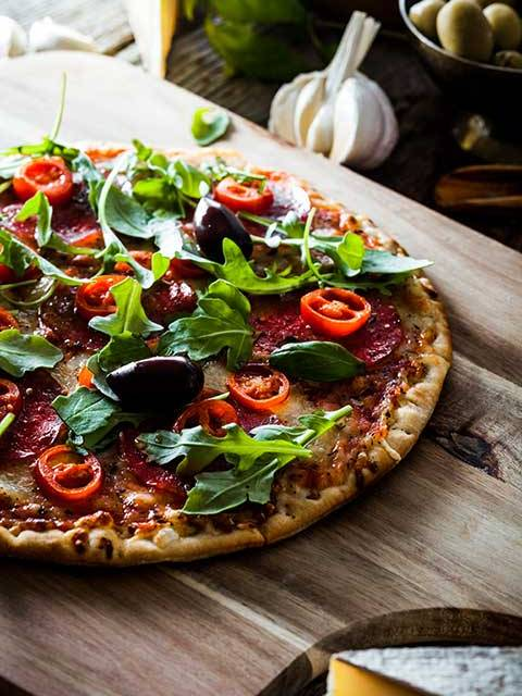 Ruccola Pizza by Cook's Step