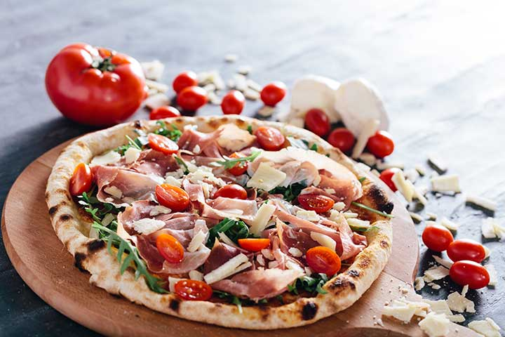Parma han pizza by Cook's Step